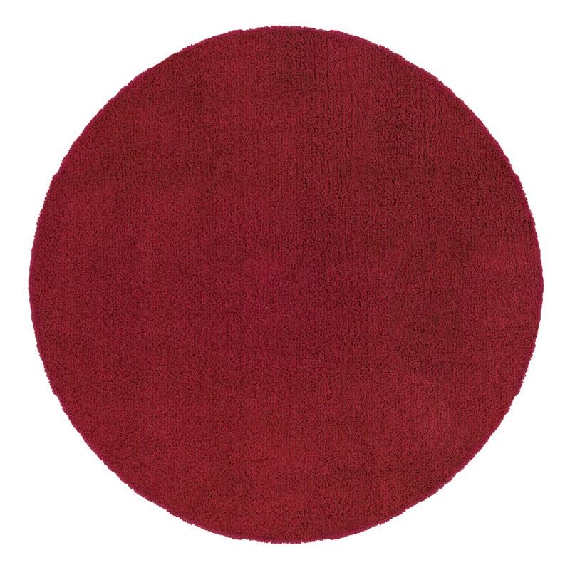 Manhattan Red Area Rug (6' Round)