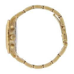 Michael Kors Women's MK5417 Glitz Chronograph Horn and Gold Watch