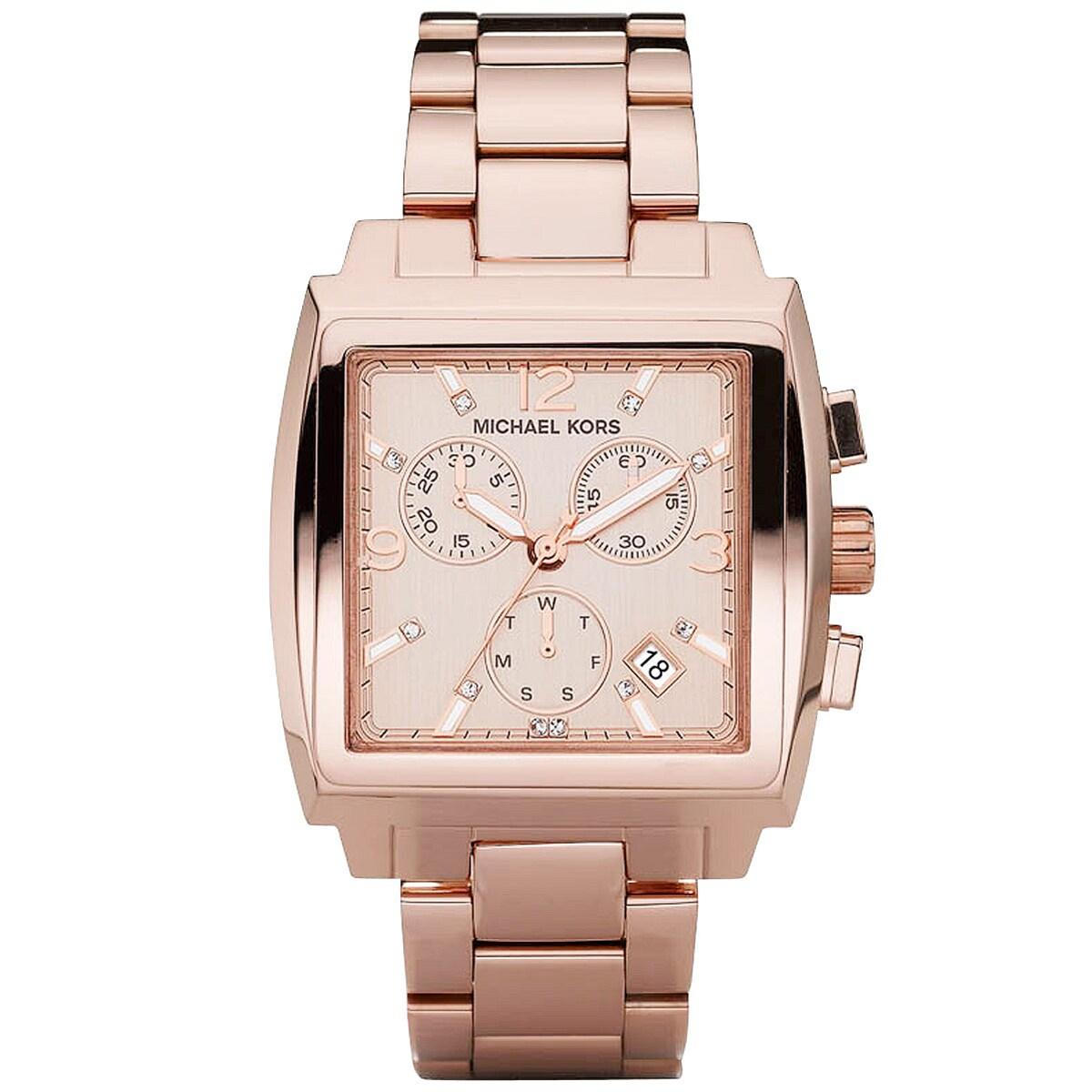 Rose Gold Watch Michael Kors Chronograph Michael Kors Women 39 s Rose Gold