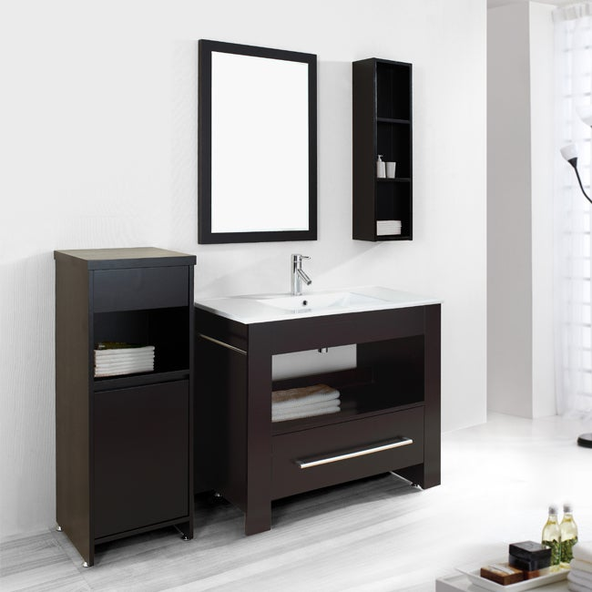 Lexi 40 Inch Single Sink Bathroom Vanity Set 13875917
