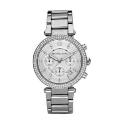 Michael Kors Women's MK5353 Crystal Bezel Chronograph Watch