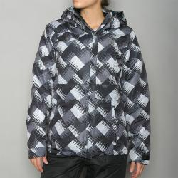 Pipeline Women's 'Check' Black Snowboard Jacket