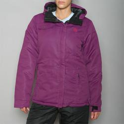 Pipeline Women's 'Solid' Purple Snowboard Jacket