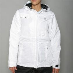 Pipeline Women's 'Solid' White Snowboard Jacket