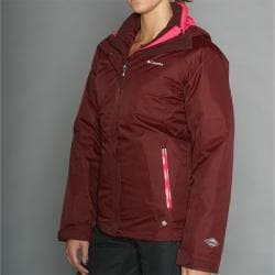 Columbia Women's Slash N' Dash Burgundy Ski Jacket