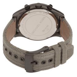 Michael Kor's Men's Canvas Strap Chonograph Watch