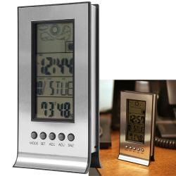 Digital Weather Station with Alarm Clock and Thermometer
