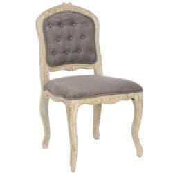Safavieh Bordeaux Grey Side Chair