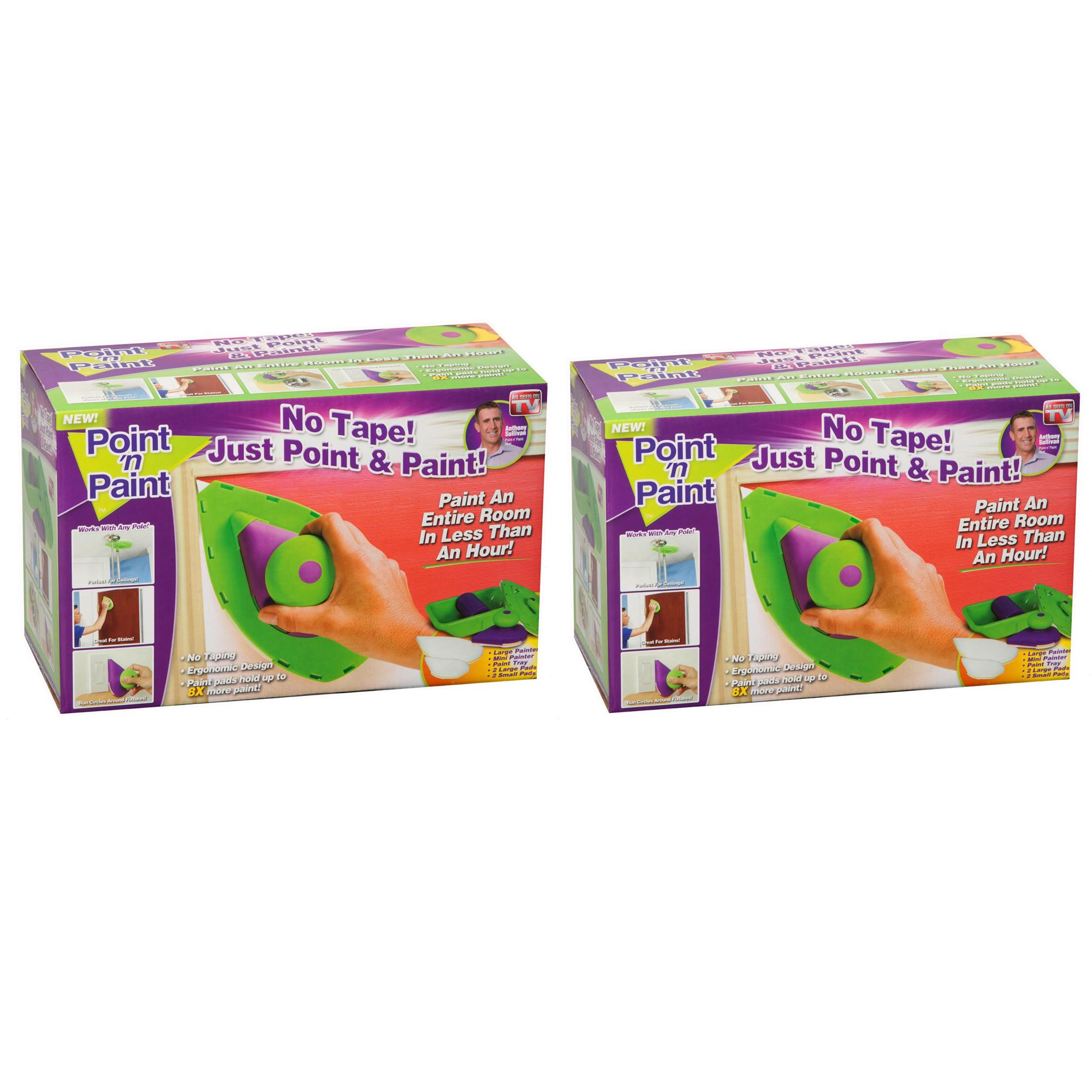 As Seen On TV Point N' Paint Painting Kit (Set of 2)