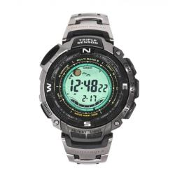 Casio Men's 'Pathfinder' Titanium Grey XL Watch