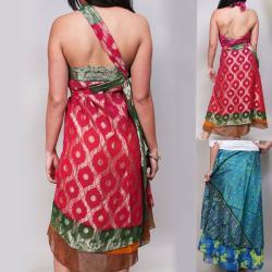 Wrap Magic Skirt Convertible Dress 62