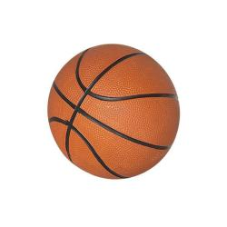 Hathaway Five-inch Brown Rubber Mini Basketball for Children