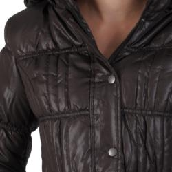 Ci Sono by Journee Junior's Quilted Hooded Bubble Jacket