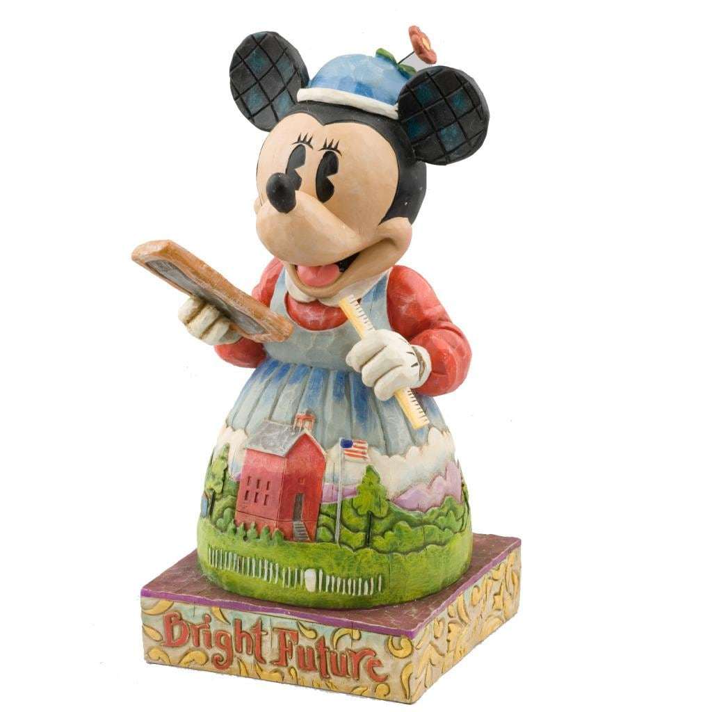 Jim Shore Teacher Minnie Figurine