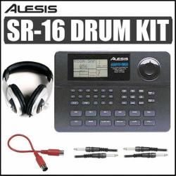 Alesis SR-16 Stereo Drum Machine Kit