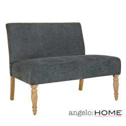 angelo:HOME Bradstreet Twillo Bluestone Loveseat
