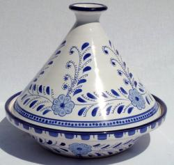 Azoura Design Ceramic 10-inch Serving Tagine (Tunisia)