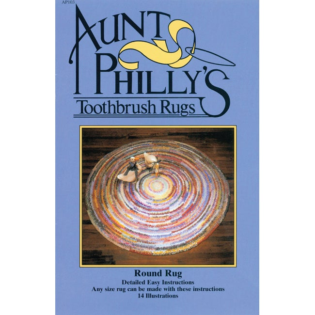 Aunt Philly's Round Toothbrush Rug Kit