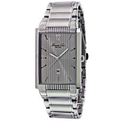 Kenneth Cole New York Men's Rectangular Pinstripe Watch