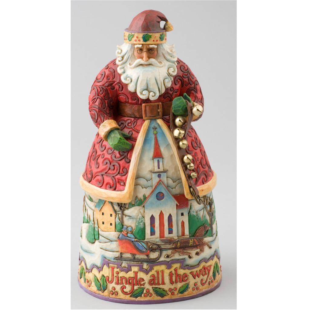 Jim Shore 'Santa Jingle Bells' Figurine