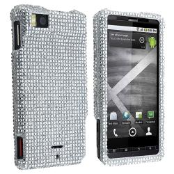Silver Diamond Protective Case for Motorola Droid X/ MB810