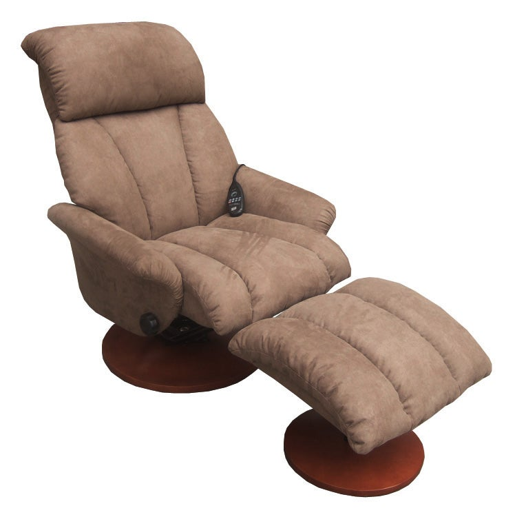 Comfort Products Chapton 8-Motor Massage/ Heat Microfiber Recliner