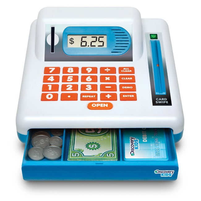 Discovery Kids Toy Cash Register