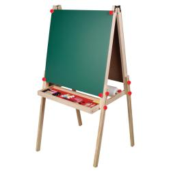 TreeHaus Adjustable Three-in-one Built-in Paper Roll Artist Easel