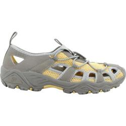 Women's Propet Discovery Grey/Pale Yellow