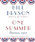 One Summer: America, 1927 (CD-Audio)