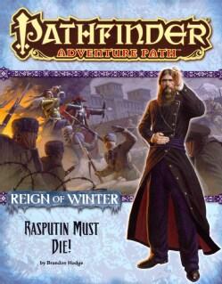 Reign of Winter: Rasputin Must Die (Paperback)