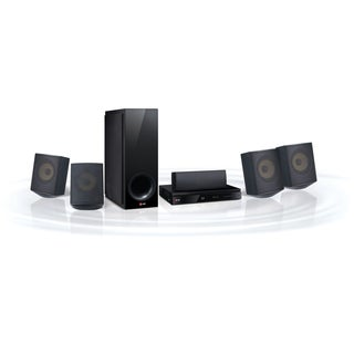 LG BH6730S 5.1 3D Home Theater System - 1000 W RMS - Blu-ray Disc Pla