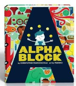 Alphablock (Board book)
