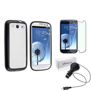 BasAcc TPU Case/ Charger/ Protector for Samsung Galaxy S III/ S3