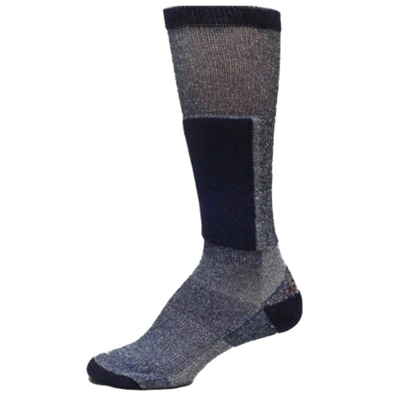 Smart Socks Unisex Navy Cushioned Merino Wool Blend Ski Socks (Pack of 3) 10616046