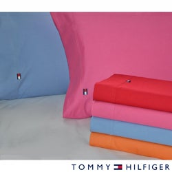 Tommy Hilfiger Solid Sheet Sets