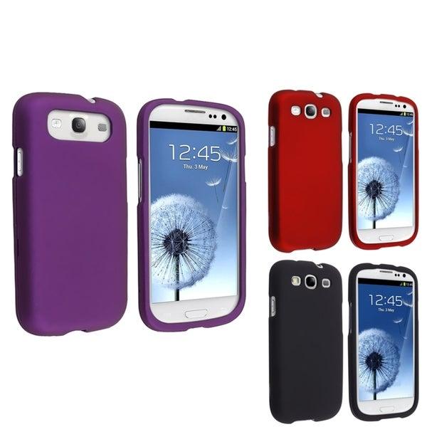 BasAcc Red Case/ Black Case/ Purple Case for Samsung Galaxy S III/ S3
