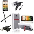 BasAcc Case/ Screen Protector/ Charger/ Stylus for HTC EVO 4G LTE