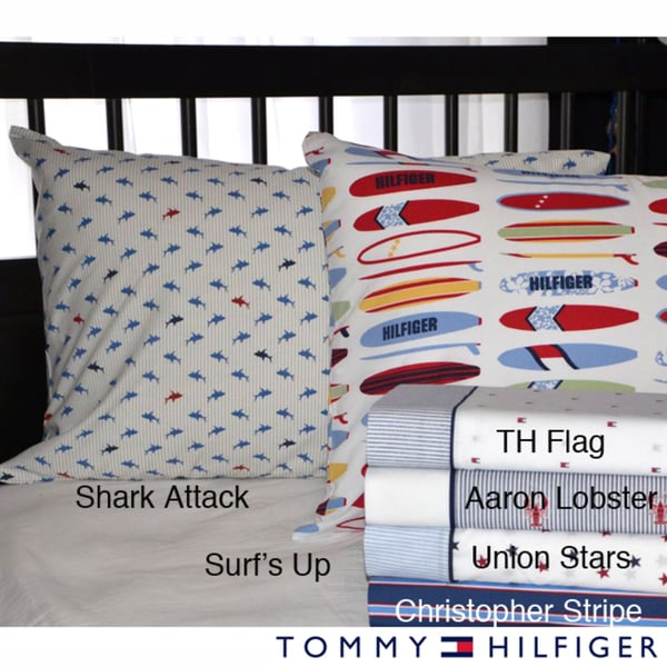 Tommy Hilfiger Print Sheet Sets