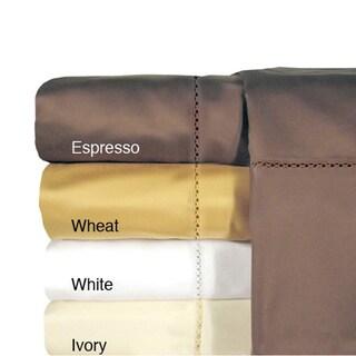 Grand Luxe Egyptian Cotton Bellisimo 800 TC Sheet or Pillowcase Pair Separates