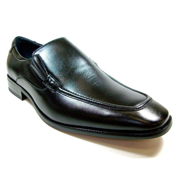 Delli Aldo Men's Rounded Toe Slip-on Loafers