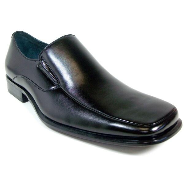 Delli Aldo Men's Square Toe Classic Loafers