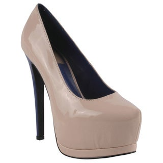 Fahrenheit by Beston Women's 'Daisy-12' Platform Stiletto Pumps