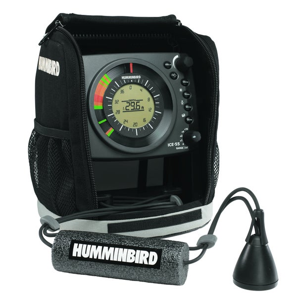 Humminbird ice 55 ice fishing flasher 407040 1 for Best ice fishing sonar