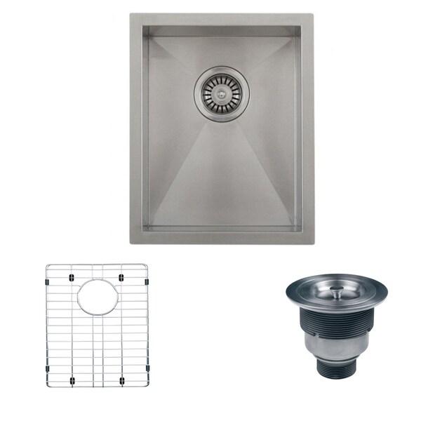 ... RVH7110 Stainless Steel Satin Single Bowl Undermount Kitchen/ Bar Sink
