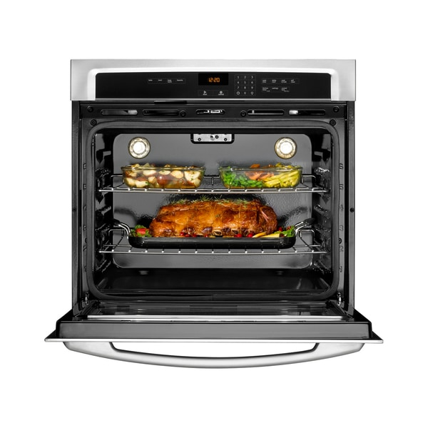 Maytag MEW7530AS Stainless Steel Single Electric Wall Oven