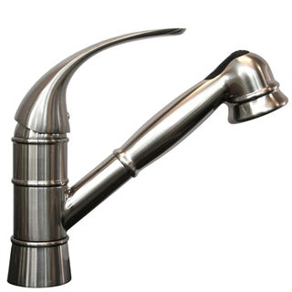 Traditional Stainless Steel Pull-out Kitchen Faucet