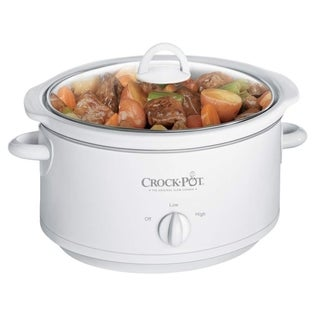 Crock Pot 3735-WN White 3.5-quart Slow Cooker