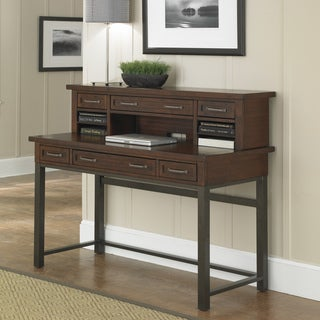 Cabin Creek Executive Desk/ Hutch
