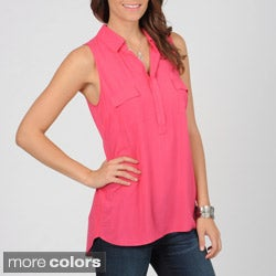Grace Elements Women's High-low Sleeveless Top